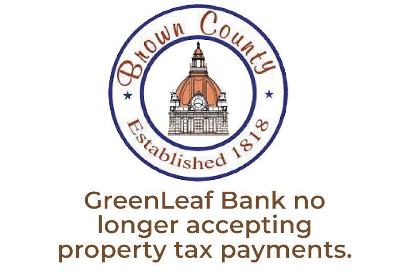 GreenLeaf Bank no longer accepting tax payments
