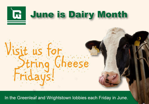 Join us for string cheese Fridays!