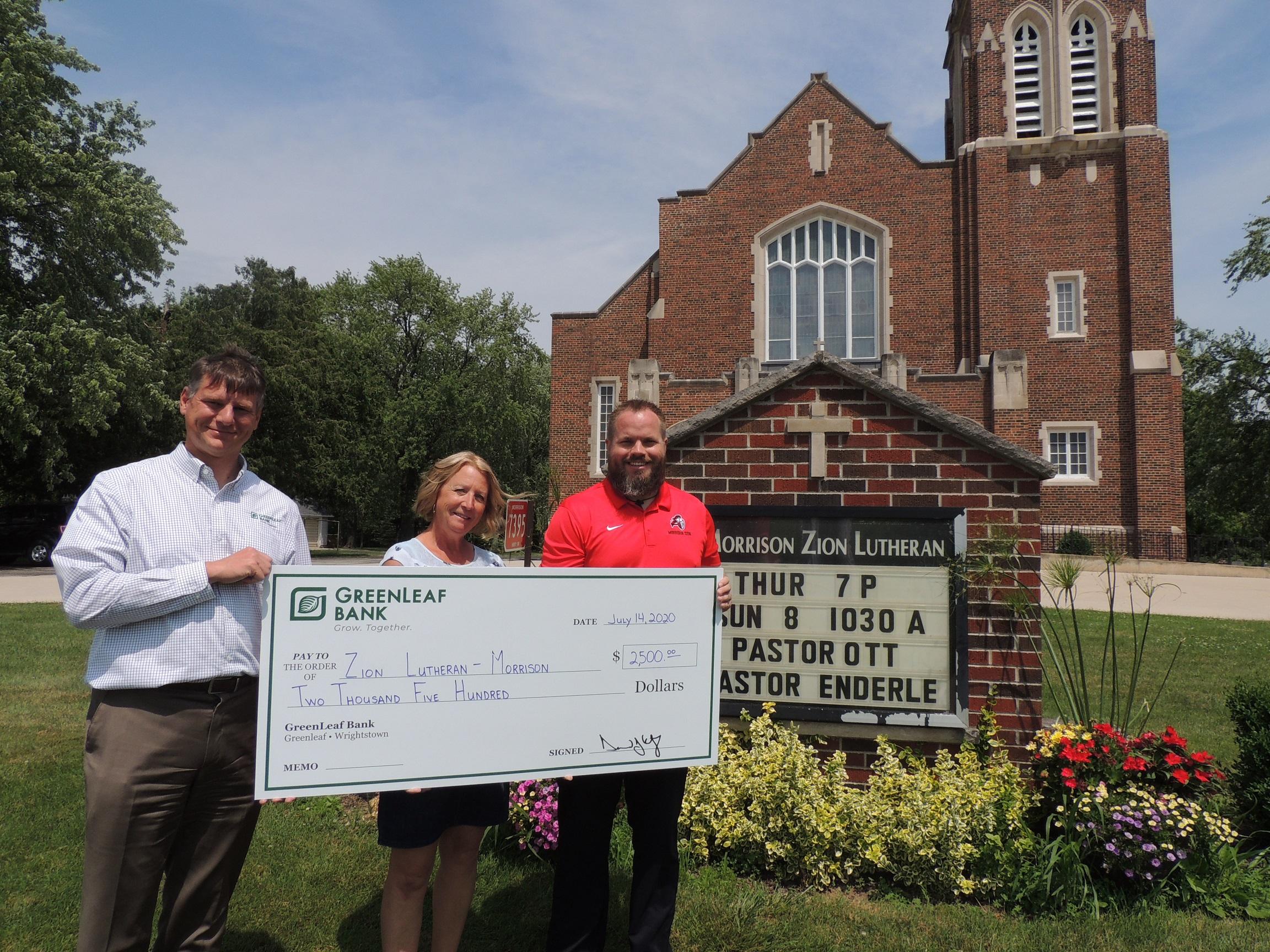 GreenLeaf Bank awards Federal Home Loan Bank grant.